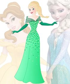 A new series in which I mix 2 disney princesses into 1 This is a mix ofBelle and Tiana, her name isBeth Hope you like her Other combinations: Anna + Ariel :willemijn1991.dev...