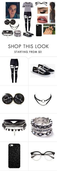 """Fall Lunch With Daniel Seavey"" by roxy-crushlings ❤ liked on Polyvore featuring WithChic, J.Crew, DanielSeavey and whydontwe"