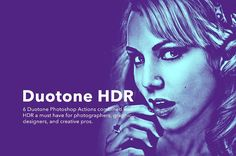Duotone HDR Photoshop Actions by GOICHA on @creativemarket