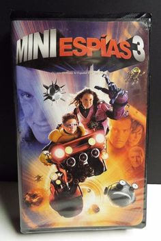 Mini Espías 3 Movie Dubbed in Spanish VHS tape Spy Kids 3 rated PG ~ RARE ~