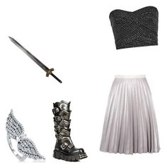 """""""Heavens wheel armor"""" by fairytail-anime ❤ liked on Polyvore featuring Antipodium and BERRICLE"""