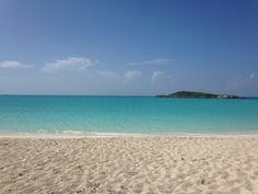 Beautiful beaches on Great Exuma, Bahamas