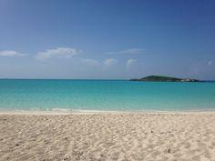 Beautiful beaches on Great Exuma, Bahamas