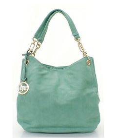 Danika Hobo in Soft Mint-I've just become obsessed with this soft mint color!