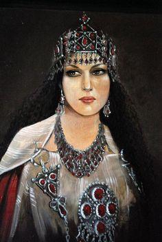 North African Women. • amayas-amazigh: kabyle women