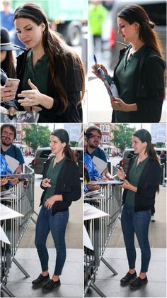 Lana Del Rey with fans in London #LDR