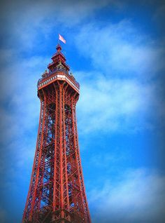 the 518ft Blackpool Tower in Lancashire, England was constructed in 1894