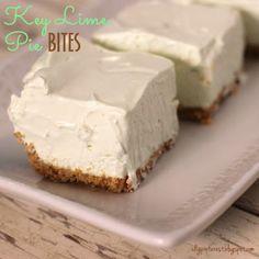 I Dig Pinterest: Cool Key Lime Pie Bites