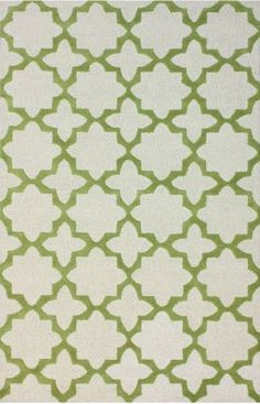 Add subtle elegance to a room with this exquisite handmade wool rug. Made from Moroccan trellis wool using petit point stitching, the rug is a joy to walk on. Tiffany Green, Casual Decor, Trellis Rug, Affordable Rugs, Navy Rug, Contemporary Area Rugs, Rugs Usa, Green Wool, Online Home Decor Stores