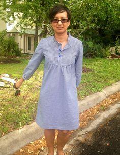 TANGERINETREES.ORG - Here is my Wiksten Tova dress.