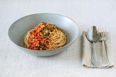 "Vegan spaghetti ""bolognese"""