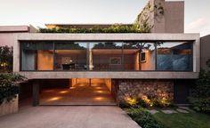 modernist house mexico city - Casa Caucaso - Jose Juan Rivera Rio architect - front