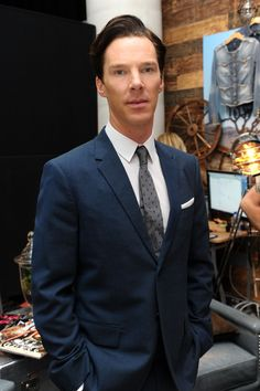 polabatch:  Benedict Cumberbatch at Guess Portrait Studio on Day 2 during the 2013 Toronto International Film Festival at Bell Lightbox on on September 6, 2013 in Toronto, Canada