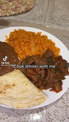Mexican Food Recipes, Beef Recipes, Dinner Recipes, Cooking Recipes, Dinner Dishes, Food Cravings, Quick Meals, I Love Food, Soul Food