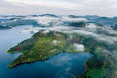 Is that lake Mutanda? Instinct Safaris Limited. Visit Uganda the sustainable way.