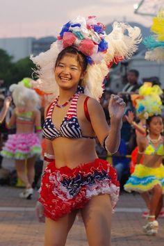 Festival Girls, Young Girl Fashion, Samba, Kobe, Cheerleading, Carnival, Cosplay, Female, Photography