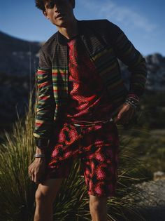 Continuing its global style narrative, Scotch & Soda dreams up an African safari as the vehicle for its spring 2016 men's collection. Couture Outfits, Rave Outfits, Cool Outfits, Soda Springs, Boy Fashion, Mens Fashion, Latest Clothes For Men, Global Style, African Safari