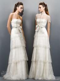 Jesus Peiro tiered wedding gown