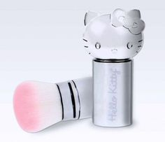 15 Minute Beauty Fanatic: 9 Must Have Products from Stila Hello Kitty My Melody, Hello Kitty Items, Sanrio Hello Kitty, Hello Kitty Stuff, Collection Mac, Makeup Collection, Makeup Tools, Makeup Brushes, Makeup Items
