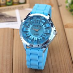 Women's Watches With Silicon Bracelet
