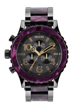 Women's 42-20 Chrono Bracelet Watch by Nixon on @nordstrom_rack