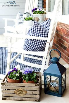 12 red white and blue decoration ideas | diy decoration, porch and
