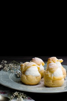 Pasta choux - bignè chantilly