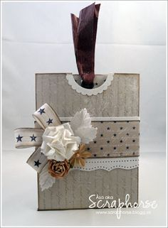 StampARTic: tutorial - pocket card with tag