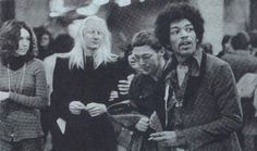 Johnny Winter and Jimi Hendrix