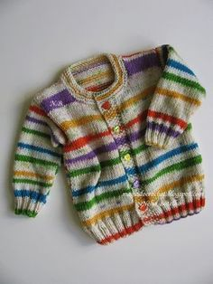 Baby Knitting Patterns combine The magic of crochet . Baby Boy Knitting Patterns, Baby Cardigan Knitting Pattern Free, Knitting For Kids, Baby Patterns, Crochet Cardigan, Crochet Patterns, Toddler Cardigan, Baby Girl Cardigans, Baby Sweaters