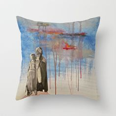 Weathering the Storm Throw Pillow by LadyJennD - $20.00