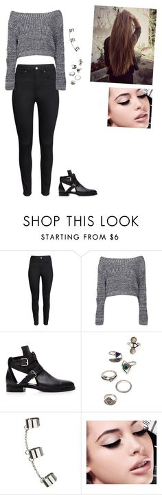 """""""Unbenannt #91"""" by slnaorhn ❤ liked on Polyvore featuring beauty, H&M, Boohoo, Pierre Hardy, Forever 21, Topshop and Maybelline"""