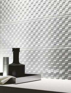 Prestige - white-body wall tiles for bathrooms Mosaic Tile Designs, Mosaic Tiles, Wall Tiles, Inspiration Wall, Bathroom Inspiration, Residential Interior Design, Interior And Exterior, Marazzi Tile, Interior Styling