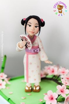 The sweety little chinese girl - Cake by Sheila Laura Gallo