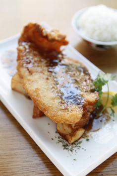 Crispy Fillet of Flounder #foodporn #food #fish #asian