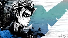 DeviantArt More Like New 52 Nightwing Recolor By Rxlthunder