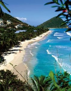 Tortola, British Virgin Islands, Caribbean, one of the most beautiful places I've seen Beaches In The World, Places Around The World, Dream Vacations, Vacation Spots, Vacation Travel, Places To Travel, Places To See, Travel Destinations, Tortola British Virgin Islands