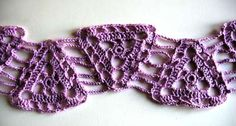 Thirds Crochet Scarf Pattern
