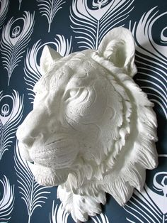 Tiger Faux Taxidermy #3dPrintedAnimals