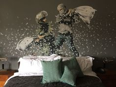 Banksy Puts Mark on Bethlehem Hotel With 'Worst View in the World' - NYTimes.com