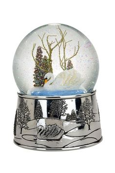 Reed & Barton Swan Globe on HauteLook
