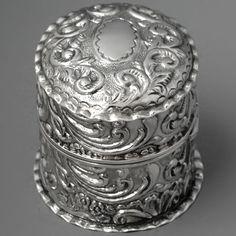 Sterling wedding ring box