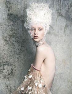 Marie Antoinette-inspired editorial