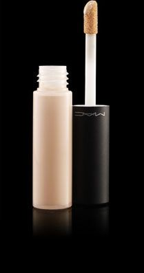 Mac Moisturecover Concealer. Works great for undereye circles and it's not heavy so I can reapply as needed during late-night dj gigs.