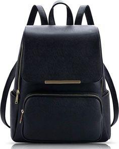 ef3e8942ff82 Alice Stylish Girls School Bag College Bag Casual Backpack Daypack(PREBKP9)  (Black)
