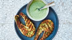 A grilled salmon recipe that's sure to please. The yogurt sauce on top will work on virtually any protein you can think of. Even tofu. Yeah, we went there.