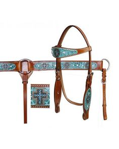 Showman Headstall and Breast Collar Set - #12703