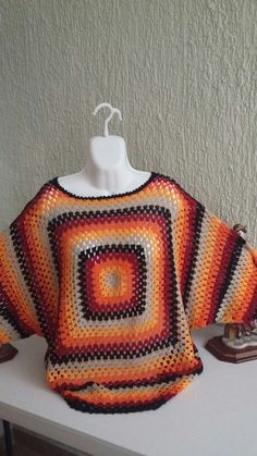 Blusa de crochet:
