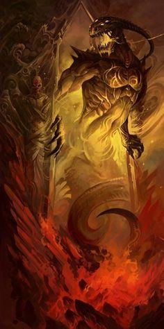 Humanoid Creatures, Weird Creatures, Fantasy Creatures, Mythical Creatures, Fantasy Demon, Dark Fantasy, Fantasy Art, Dark Lord, Angels And Demons