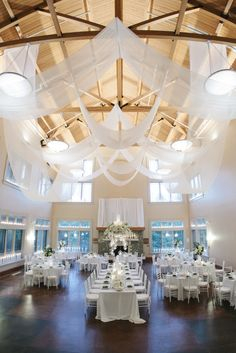 Reception: Baker Center at the North Carolina Arboretumn   www.ncarboretum.org/   View more: http://stylemepretty.com/vault/gallery/16010